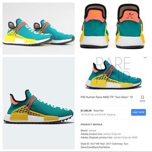 adidas by Pharrell Williams PW Human Race NMD T
